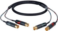 Professional Audio Cable 2 RCA to 2 RCA PROFI-2RCA-C