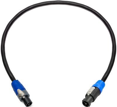 4-Pole speakON to 2-Pole speakON Speaker Cable NSP4-NSP2