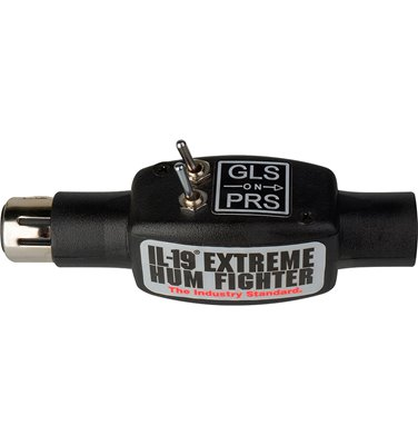 IL-19-PRS-GLS Pro Audio Hum Eliminator with Phase Switch and Total Ground LiFoot Switch
