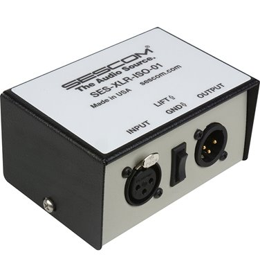 SES-XLR-ISO-01 Audio Isolation Transformer Single Channel XLR