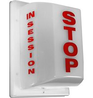 FSL-3 Triple Side Non-Flashing Light - Stop: In Session
