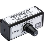 SES-MKP-27 3.5mm to 3.5mm Stereo Volume Control for Line Level Devices