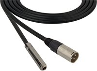 4 Conductor Audio Cable XLR Male to 1/4 Inch TRS Female
