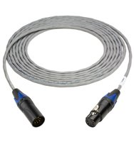 Plenum Lighting Control Cable 5-Pin XLR-Male to 5-Pin XLR-Female P/DMX